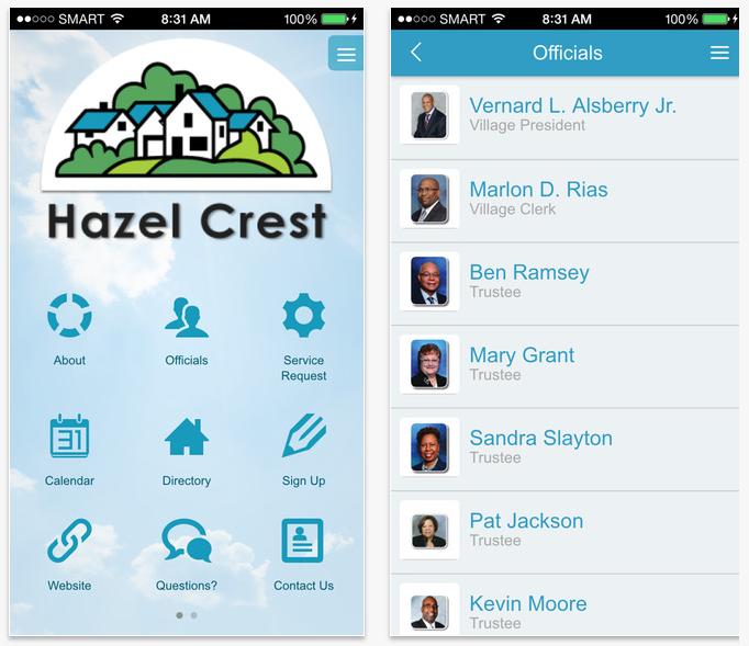 Municipal Smartphone App