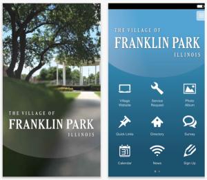 Village of Franklin Park Smartphone Application